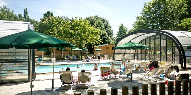 bracieux piscine camping